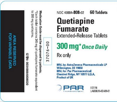Some Common Side Effects of Quetiapine