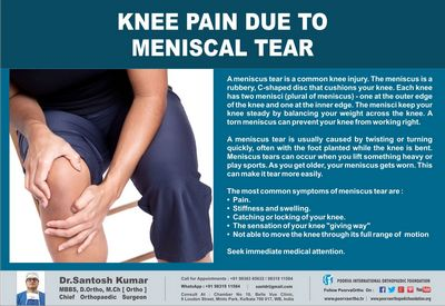 What You Should Know About Meniscus Pain